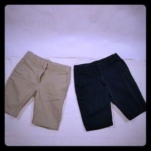 Chaps girls sz 8 shorts NWOT